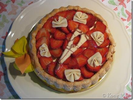 Charlotte aux fraise