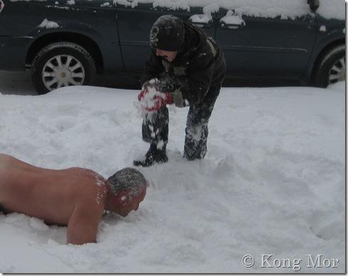 i sneen